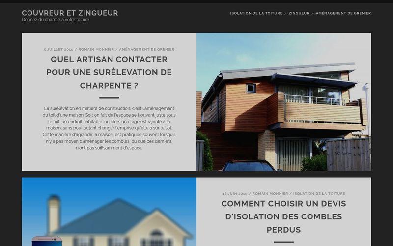 Couvreur et Zingueur - Donnez du charme à votre toiture
